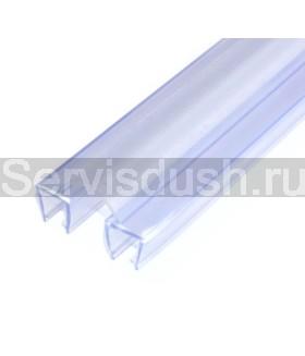 Силиконовый уплотнитель для дверок и боковых стёкол - 8 мм , 10 мм