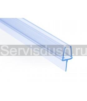 Силиконовый уплотнитель для стекла 6 мм (длина 200 см)