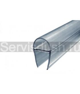 Силиконовый уплотнитель под стекло толщиной 6мм , 8 мм , 10 мм (длина 220 см.)