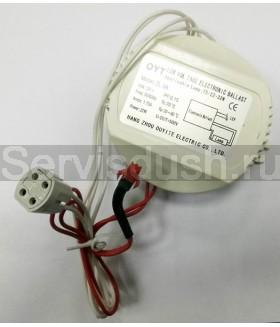 Электронный балласт для круглой лампы в душевой кабине