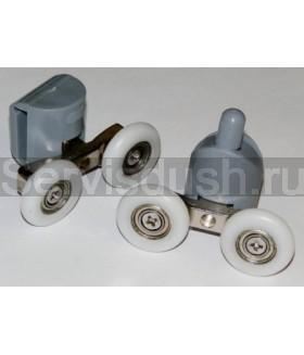 Ролики для душевой кабины 4 верхних, 4 нижних - 22 мм , 25 мм (комплект 8 шт.)