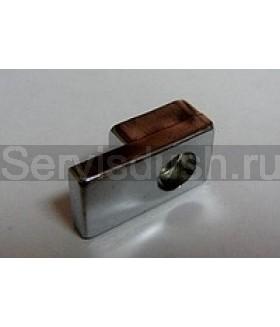 Фиксатор неподвижного стекла для душевой кабины толщина стекла  -  4 мм , 6 мм