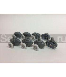 Ролики для душевой кабины - 19 мм , 25 мм (комплект 8 шт.)