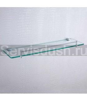 Полка стеклянная для душевой кабины