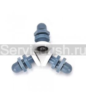 Ролики для душевой кабины, эксцентрик - 22 мм , 25 мм (комплект 8 шт.)