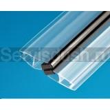 Уплотнитель-магнит для душевой кабины  5 - 6мм , 8 мм ,10 мм