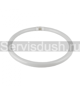 Лампа круглая люминесцентная для душевой кабины диаметр 24 см
