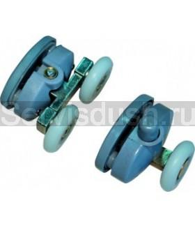 Ролики для душевой кабины на два отверстия - 23 мм (комплект 8 шт.)